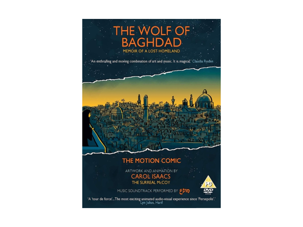 SURREAL MCCOY & CAROL ISAACS - The Wolf Of Baghdad (DVD)