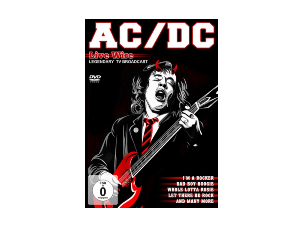 AC/DC - Live Wire - TV Broadcasts 1976-1979 (DVD)