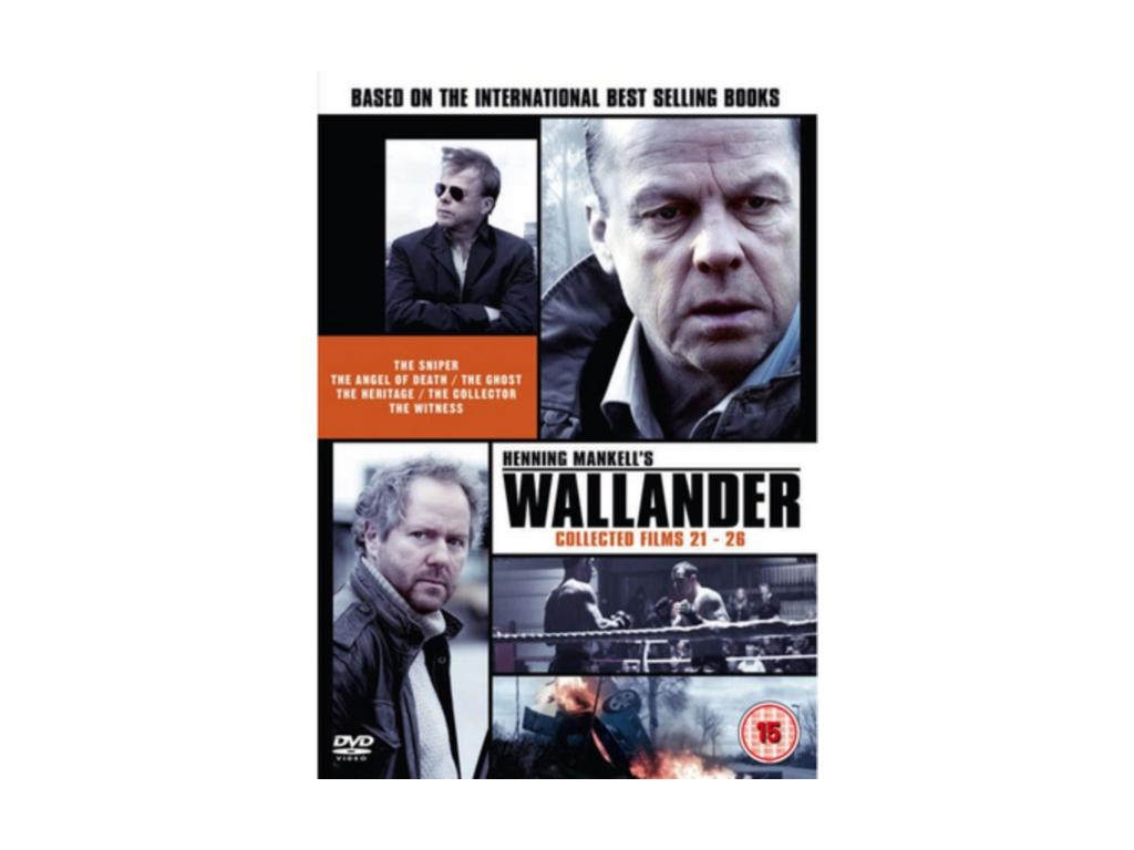 Wallander  Collected Films 2126 (DVD)