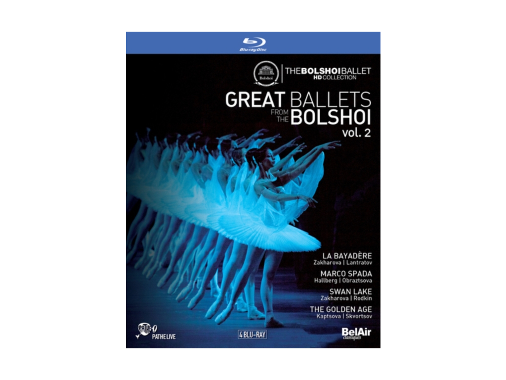 VARIOUS ARTISTS - Great Ballets Bolshoi Vol.2 (Blu-ray + DVD)