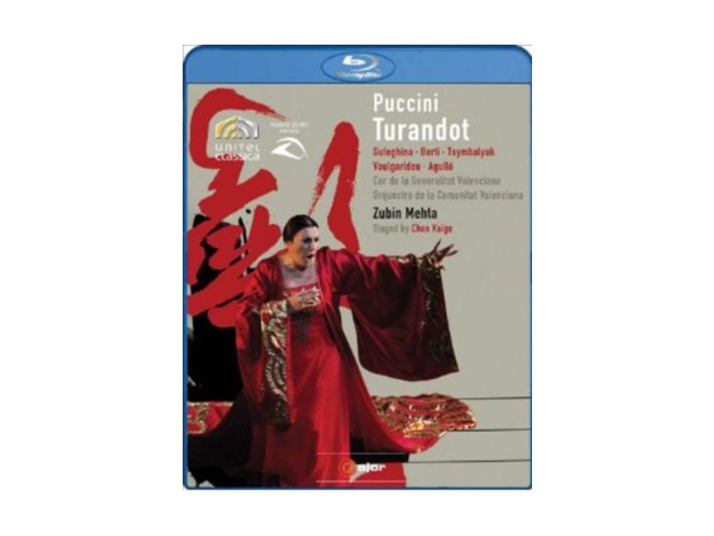 GULEGHINABERTIMEHTA - Pucciniturandot (Blu-ray)