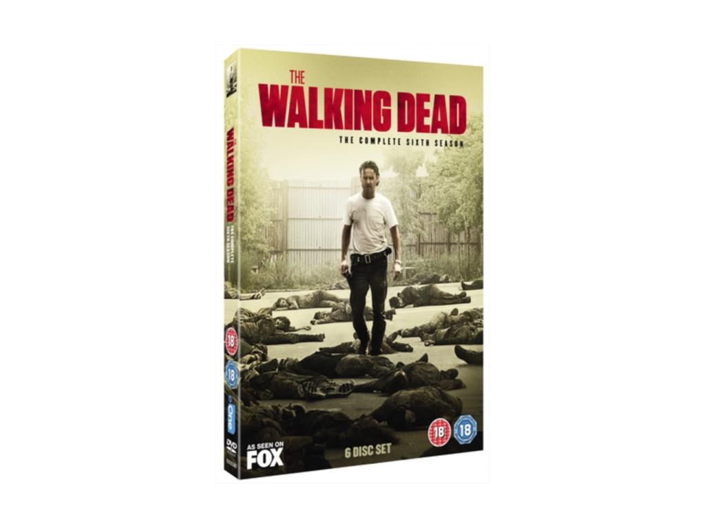 Walking Dead The Complete Sixth Season (DVD)