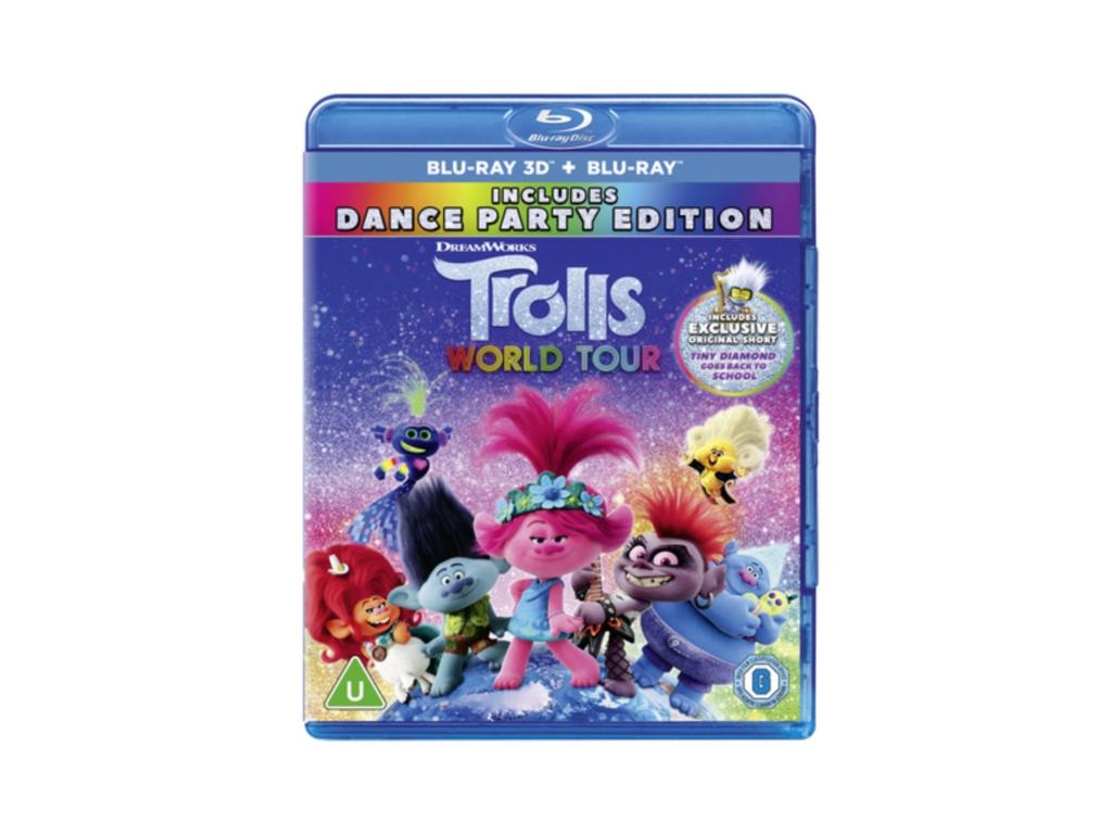 Trolls 2: World Tour (2D+3D) (Blu-ray 3D)