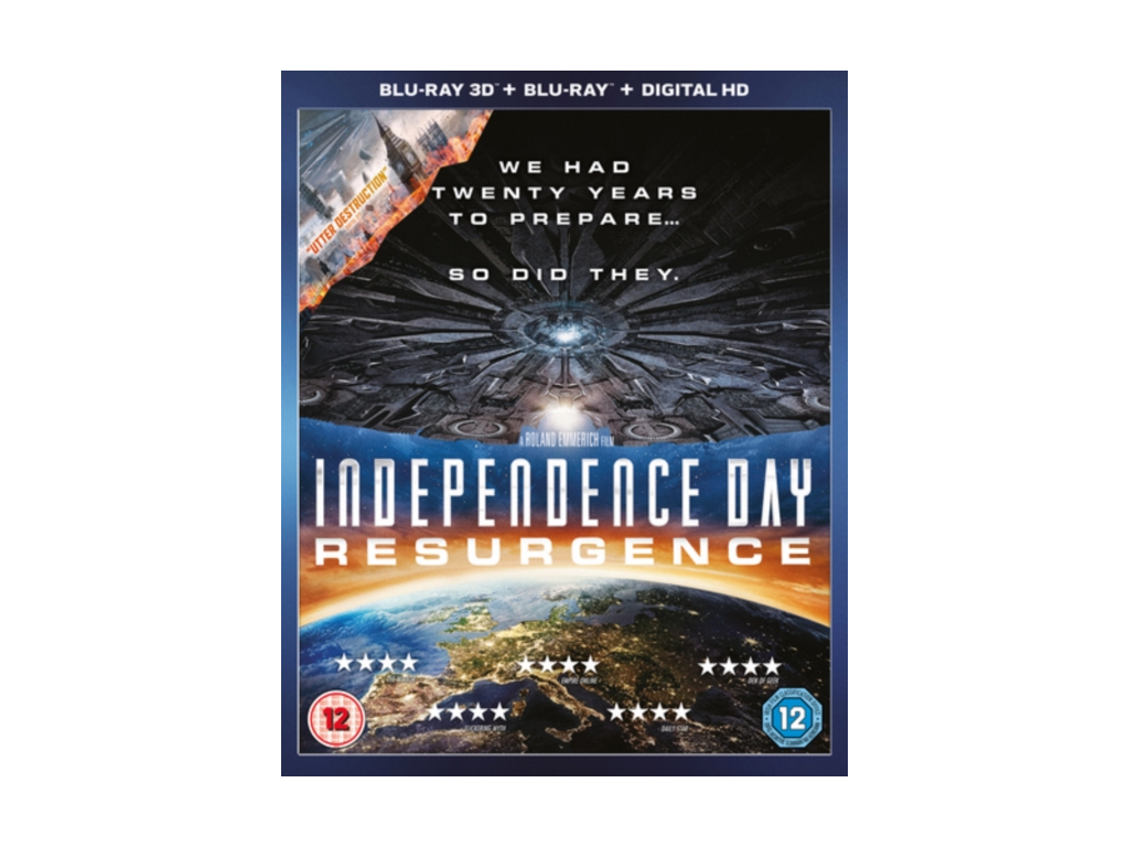 Independence Day: Resurgence (3D Blu-ray)