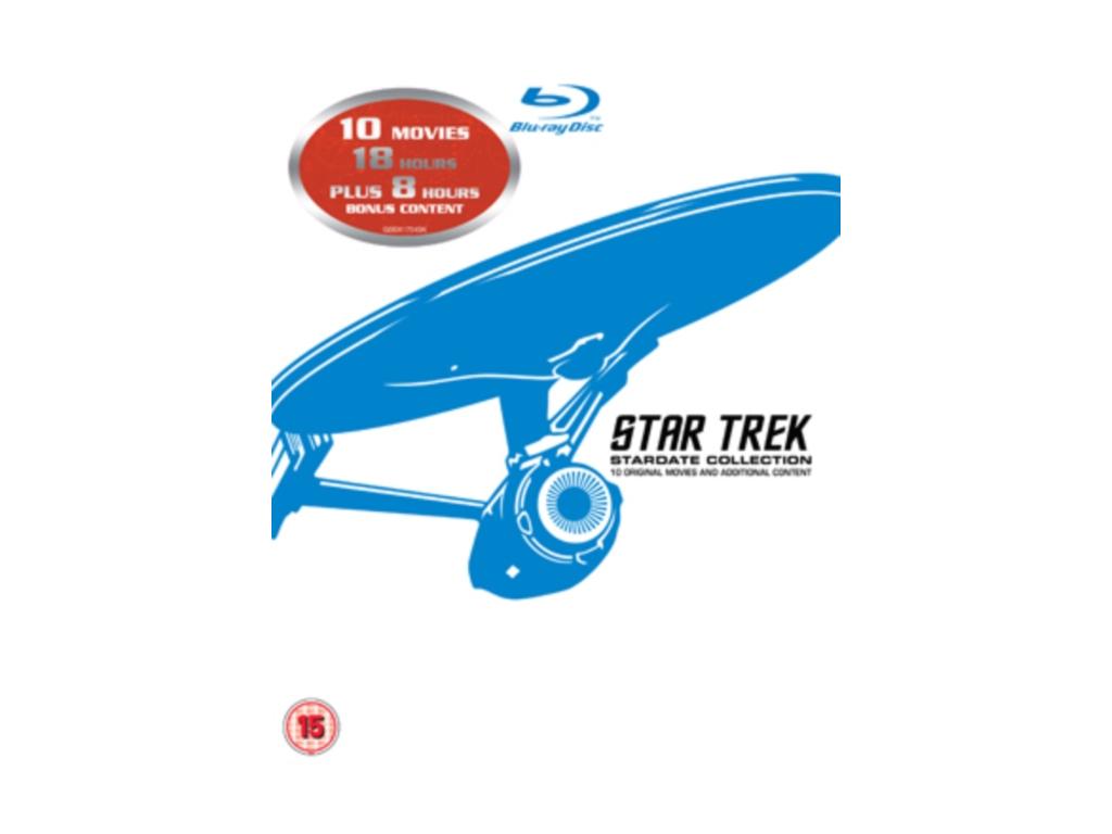 Star Trek: I - X (Blu-ray)