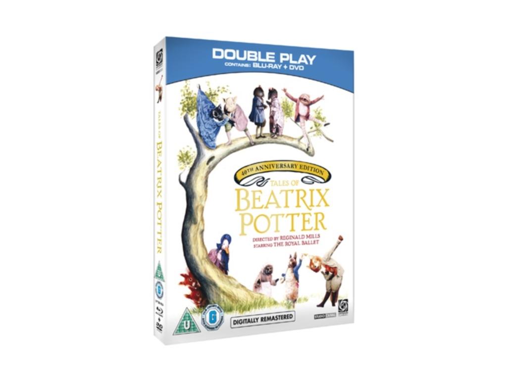 Tales Of Beatrix Potter - 40th Anniversary (Digitally Restored) (DVD + Blu-ray)
