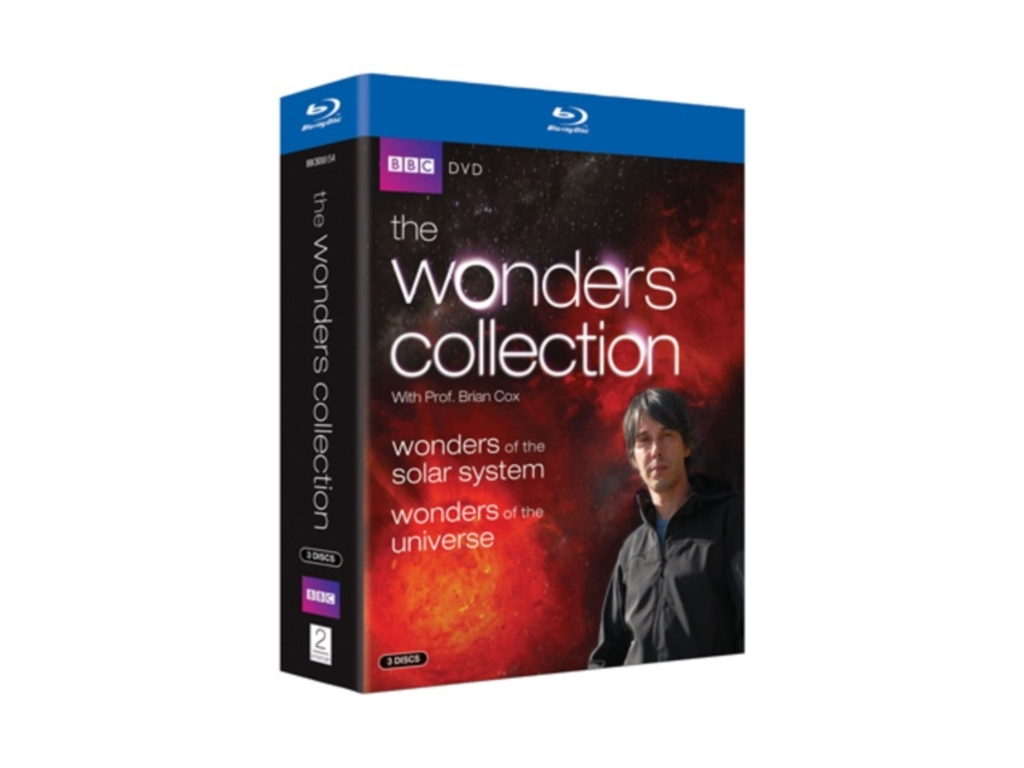 The Wonders Collection With Prof. Brian Cox (Blu-ray)