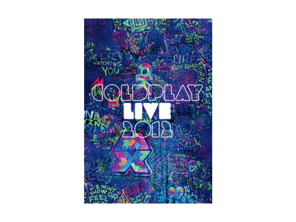 Coldplay Live 2012 [Blu-ray+CD][Region Free] (Blu-ray)
