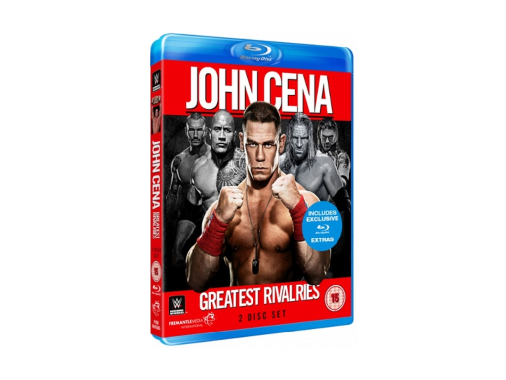 WWE: John Cena - Greatest Rivalries (Blu-ray)