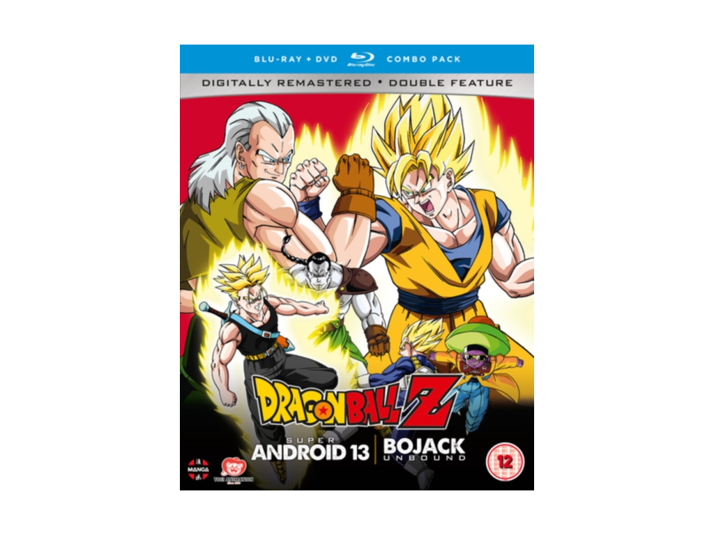 Dragon Ball Z Movie Collection Four: Super Android 13!/Bojack Unbound - DVD/Blu-ray Combo (Blu-ray)