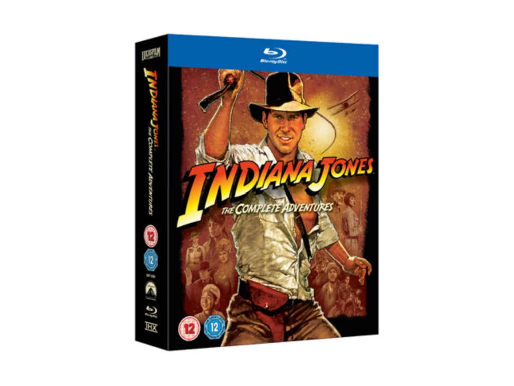 Indiana Jones – The Complete Adventures Quadrilogy (Blu-Ray)