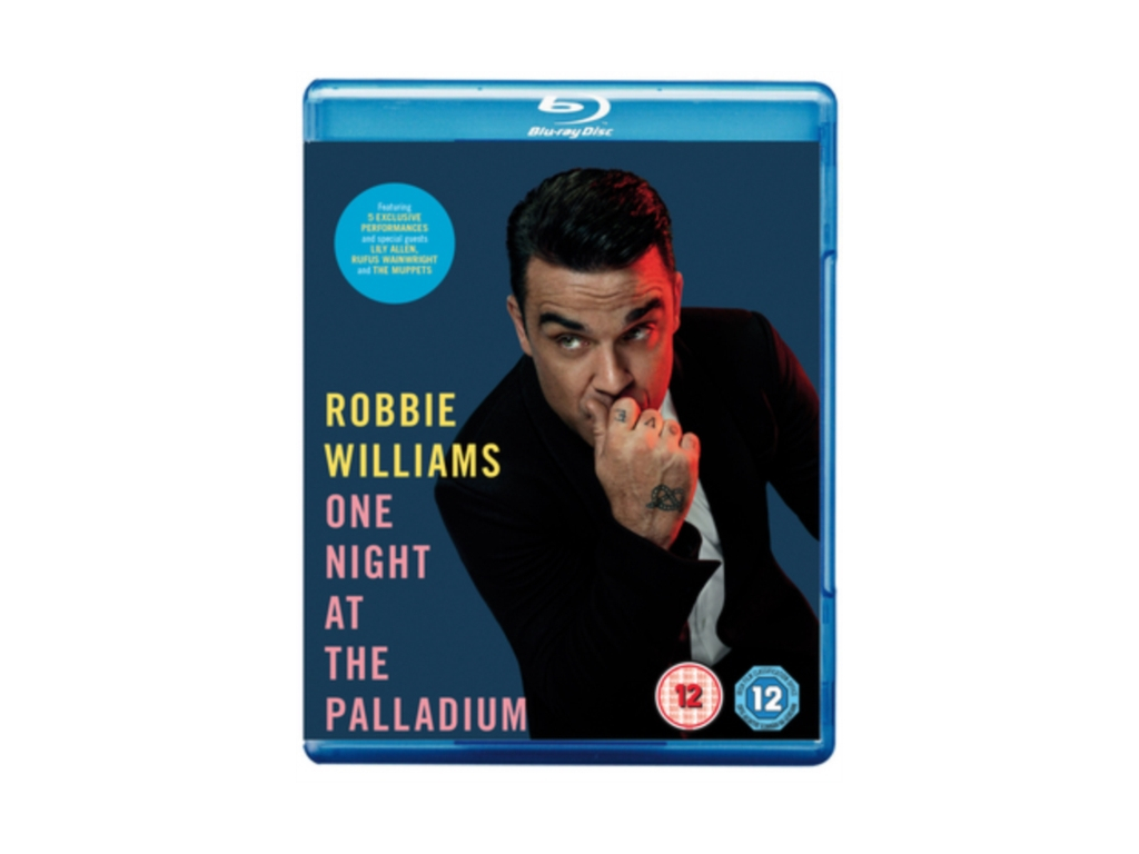 Robbie Williams – One Night at the Palladium (Blu-ray)