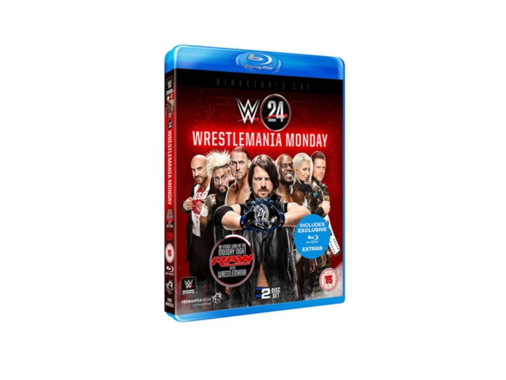 WWE: WrestleMania Monday (Blu-ray) [DVD]