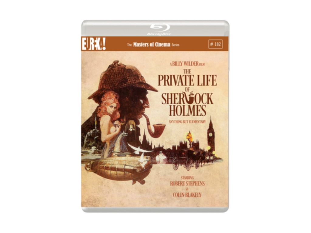 The Private Life of Sherlock Holmes (1970) (Masters of Cinema) (Blu-ray)