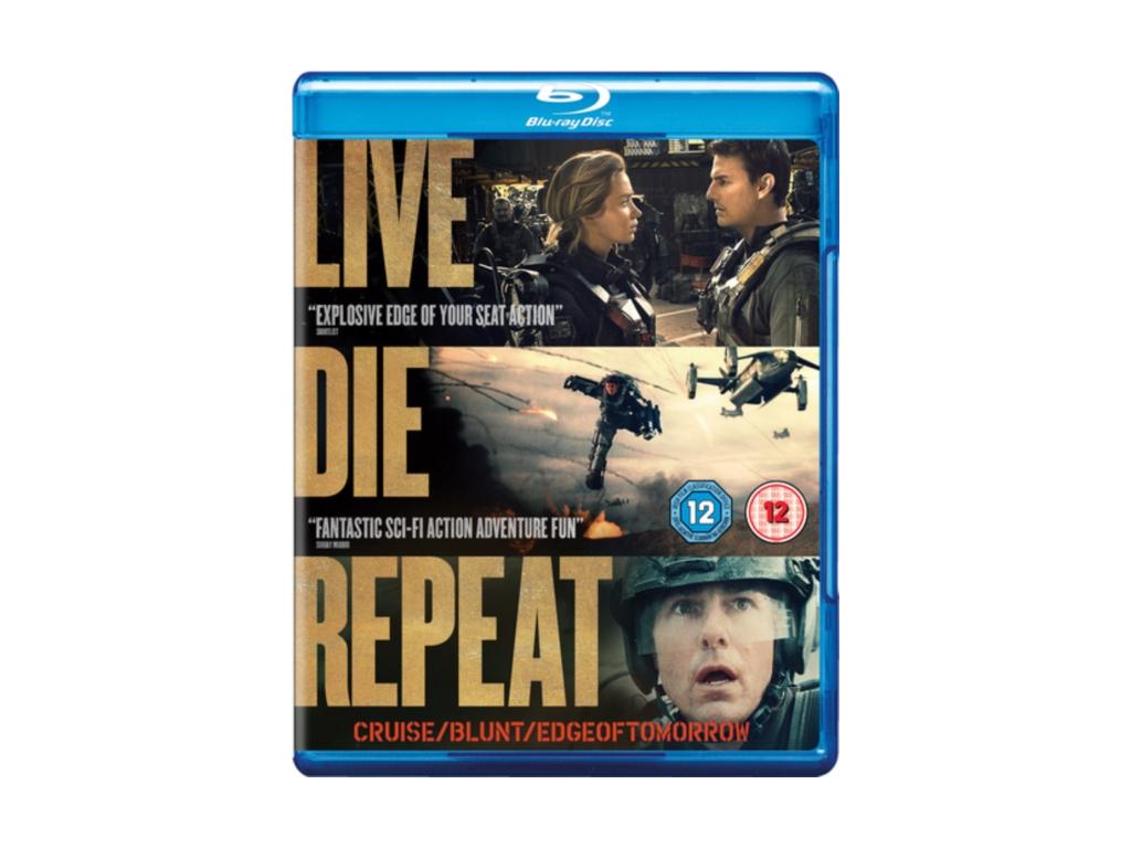 Live Die Repeat: Edge of Tomorrow (Blu-ray)