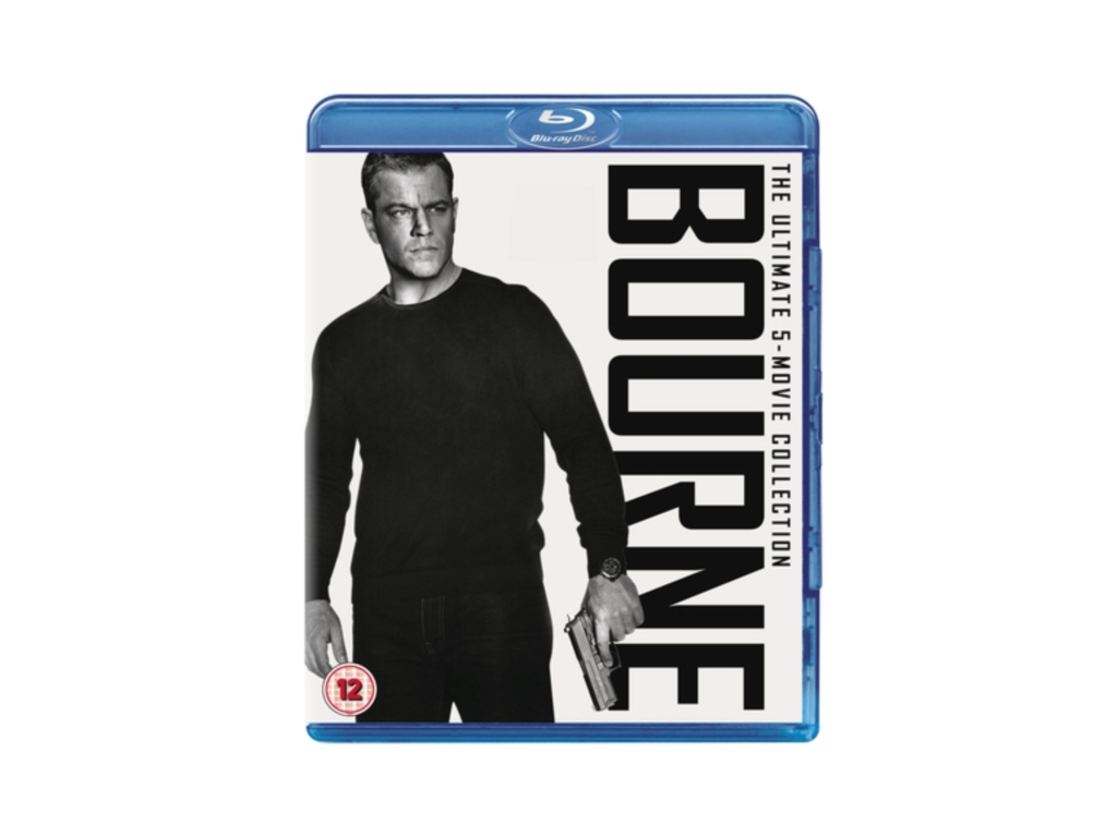 The Bourne Collection (1-5 Boxset) (Blu-ray)
