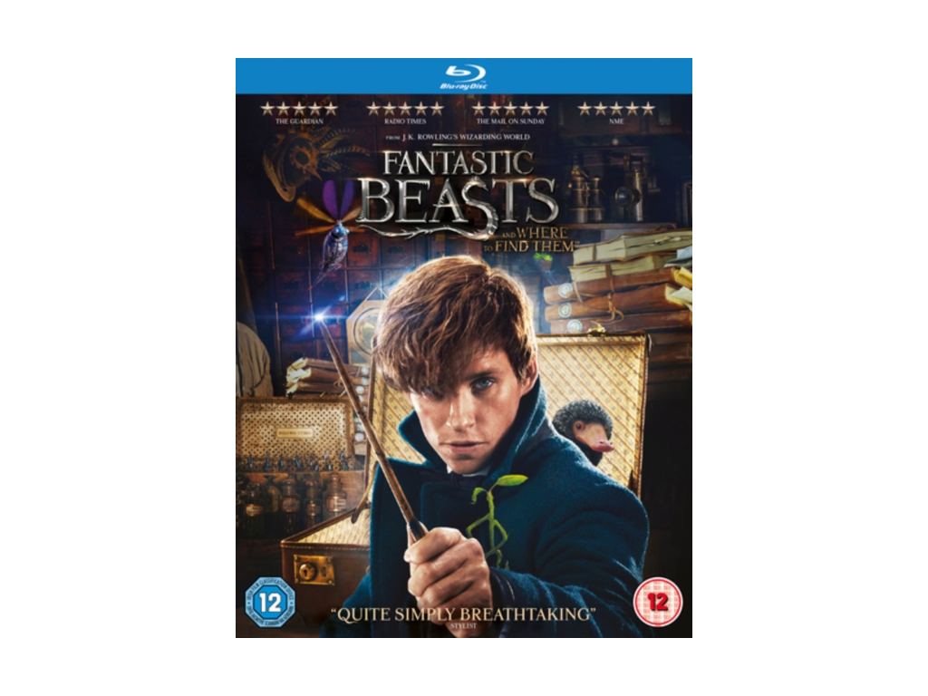 Fantastic Beasts and Where To Find Them  (Blu-ray) [2016]