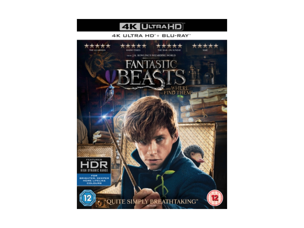 Fantastic Beasts and Where To Find Them Includes Digital Download [4K UHD] [2016] (Blu-ray)