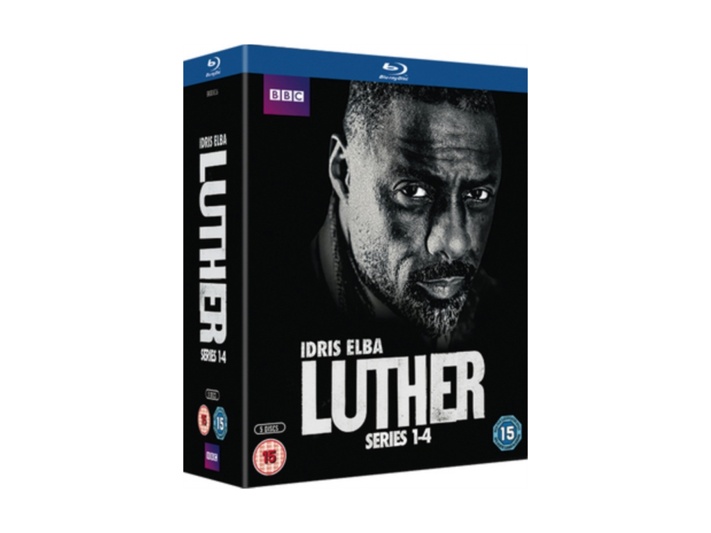 Luther - Series 1-4 (Blu-ray)
