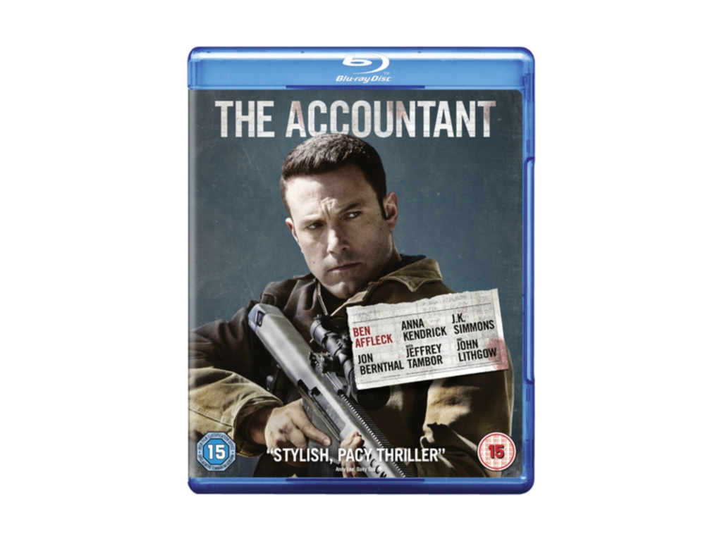 The Accountant [2017] (Blu-ray)