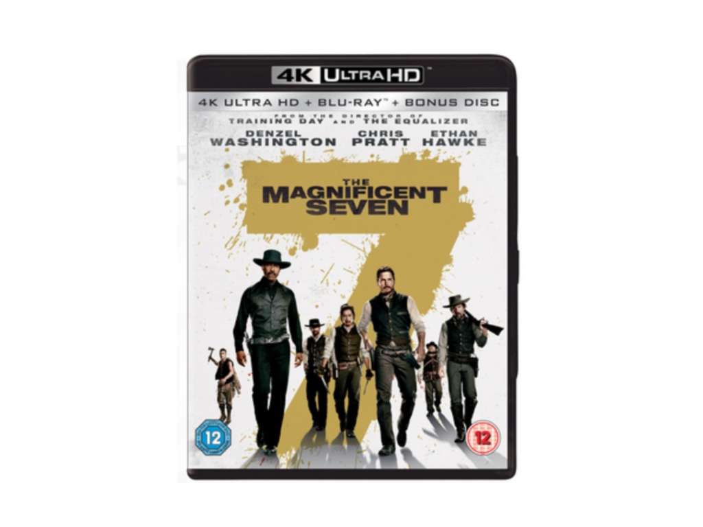 The Magnificent Seven [4K Ultra HD] (Blu-ray)