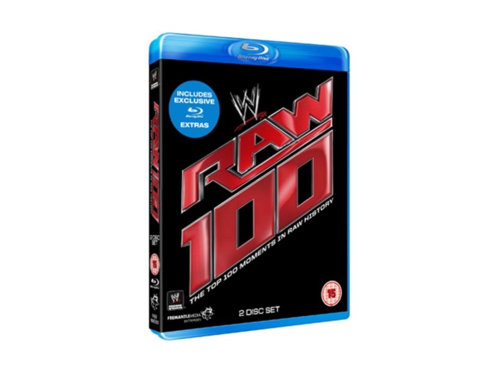 WWE Top 100 Raw Moments (Blu-Ray)
