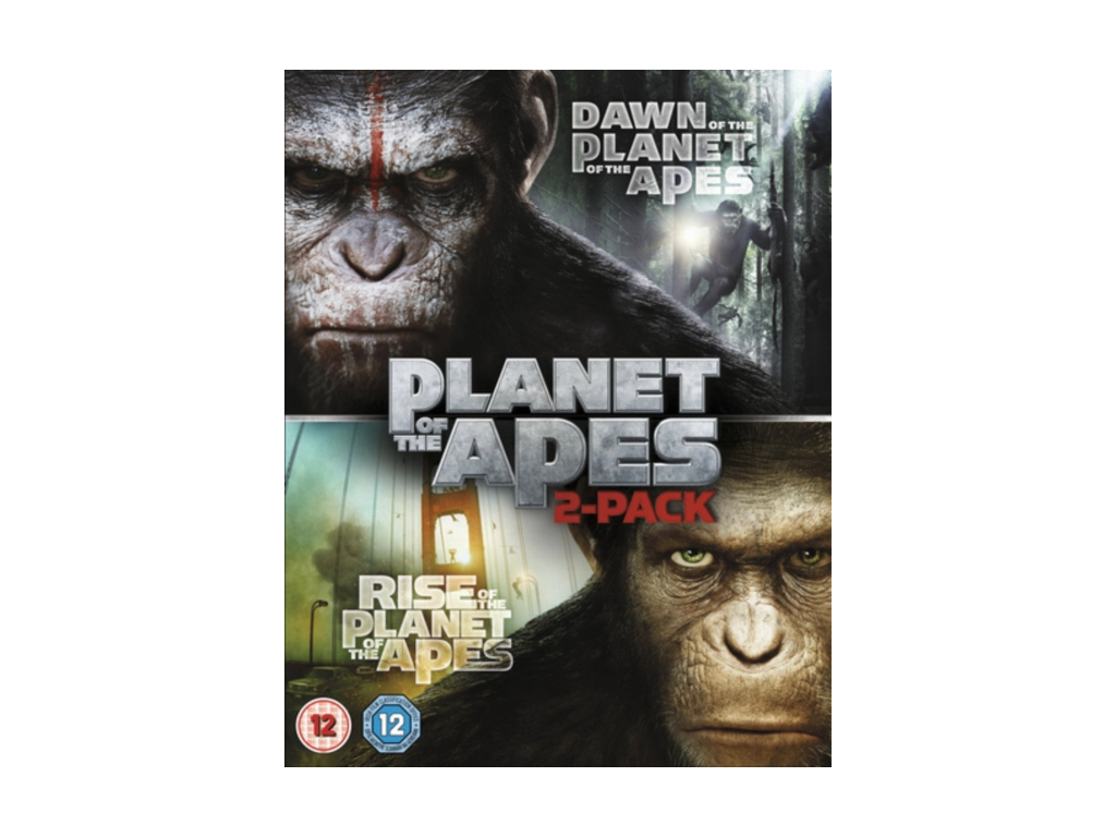 Dawn of the Planet of the Apes / Rise of the Planet of the Apes [Double Pack] (Blu-ray)