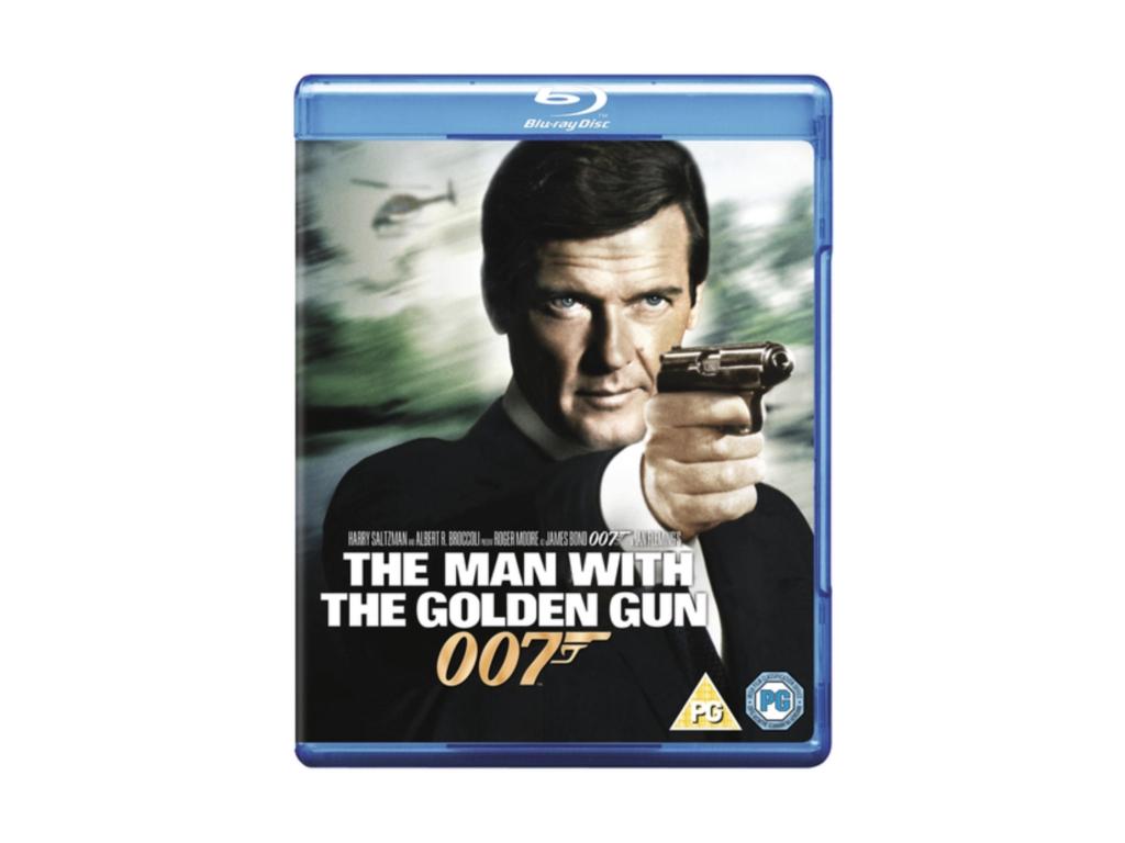 The Man With A Golden Gun [Blu-ray + UV Copy]