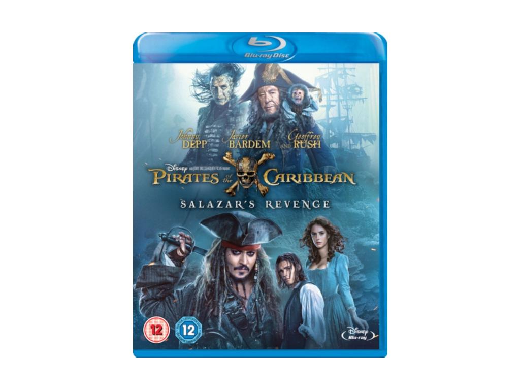Pirates of the Caribbean: Salazar's Revenge (Blu-ray) [2017]