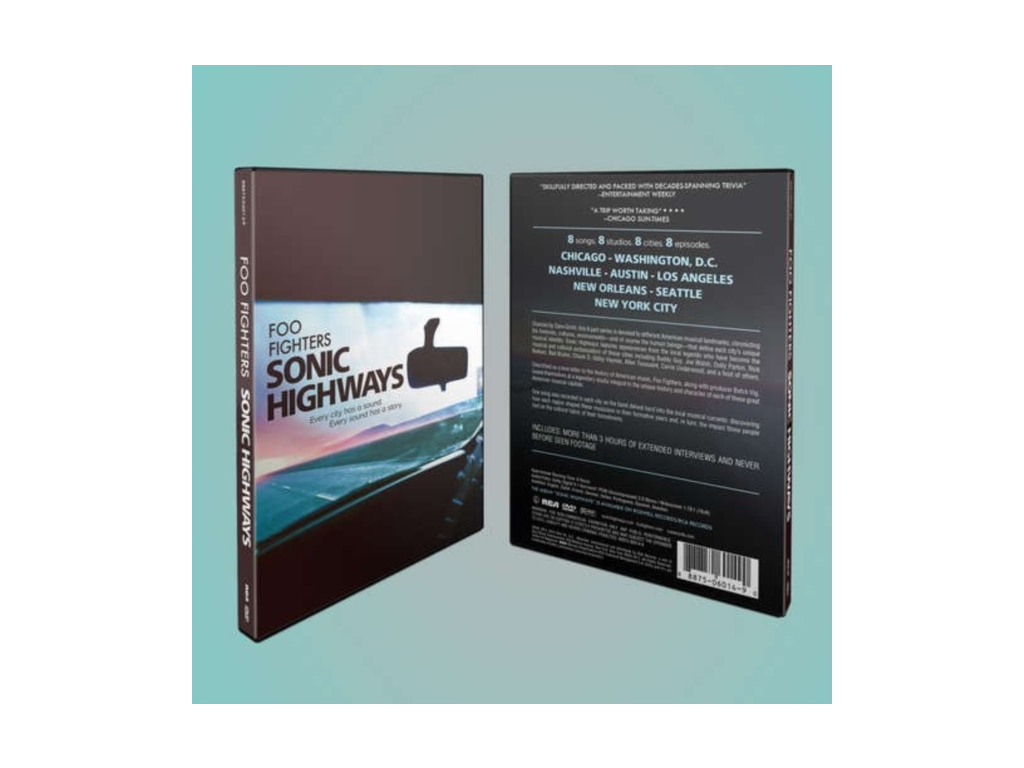 Foo Fighters: Sonic Highways [2015] (Blu-ray)