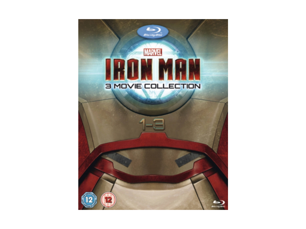 Iron Man 1-3 Complete Collection (Blu-ray)