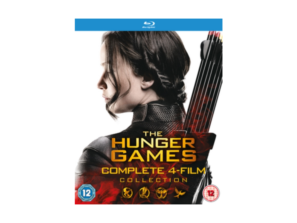 The Hunger Games - Complete Collection (Blu-ray)