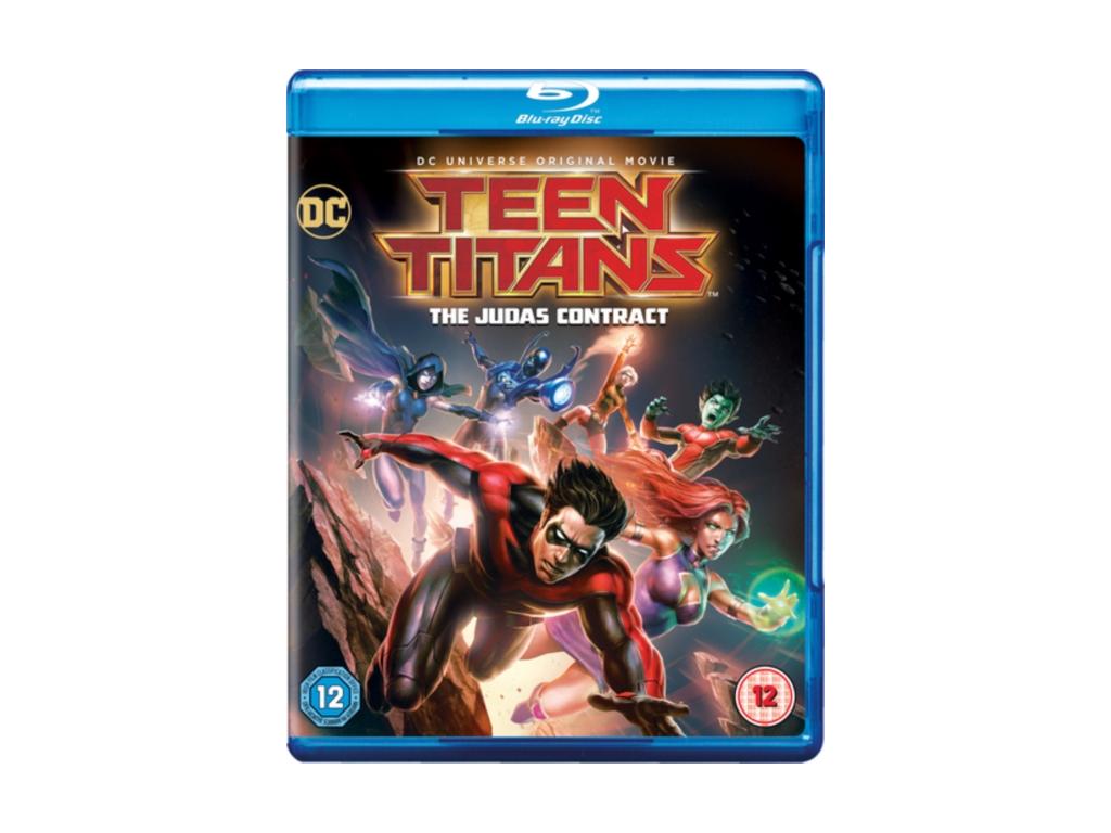 Teen Titans: Judas Contract (Blu-ray) [2016]