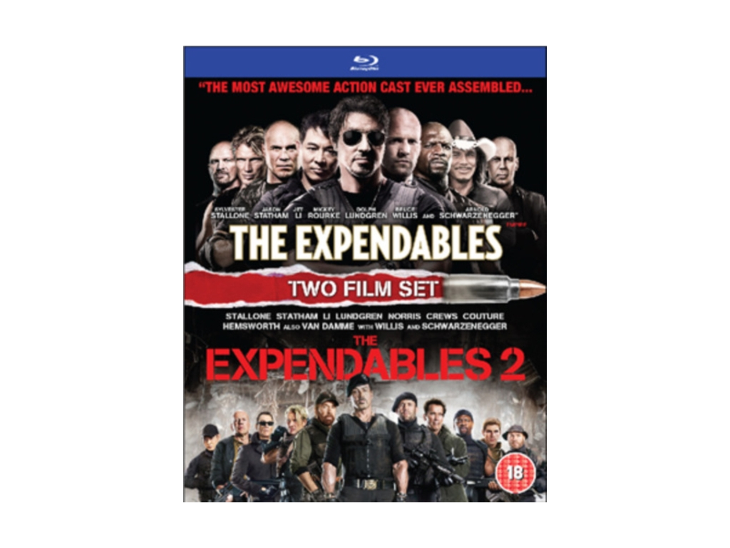 The Expendables 1 & 2 Boxset (Blu-Ray)
