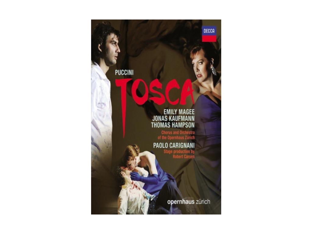 Tosca: Opernhaus Zurich (Carignani) [2013] (Blu-ray)