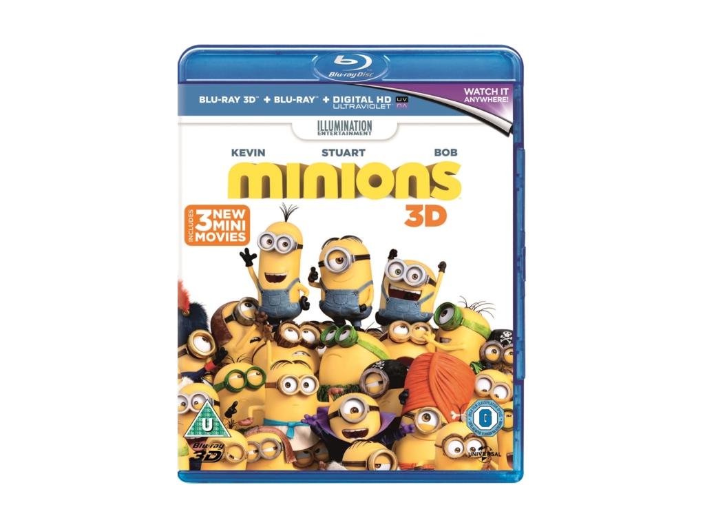 Minions (3D Blu Ray)