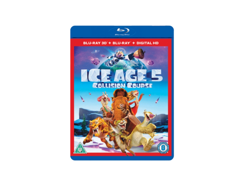 Ice Age: Collision Course (Blu-ray 3D + Blu-ray )