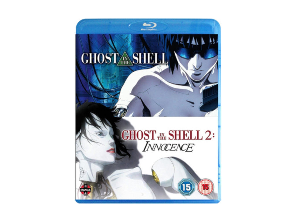 Ghost In The Shell Movie Double Pack (Ghost In The Shell  Ghost In The Shell: Innocence) Blu-ray (Blu-ray)
