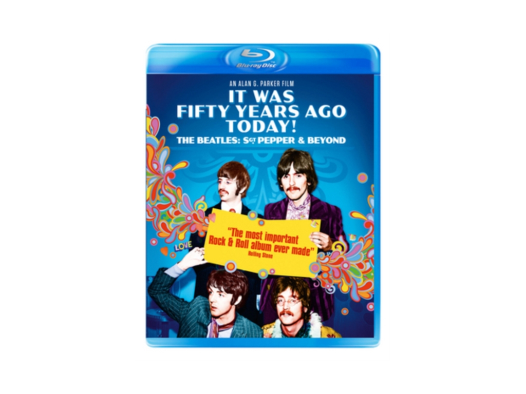 It Was Fifty Years Ago Today! The Beatles: Sgt. Pepper & Beyond (Blu-ray)