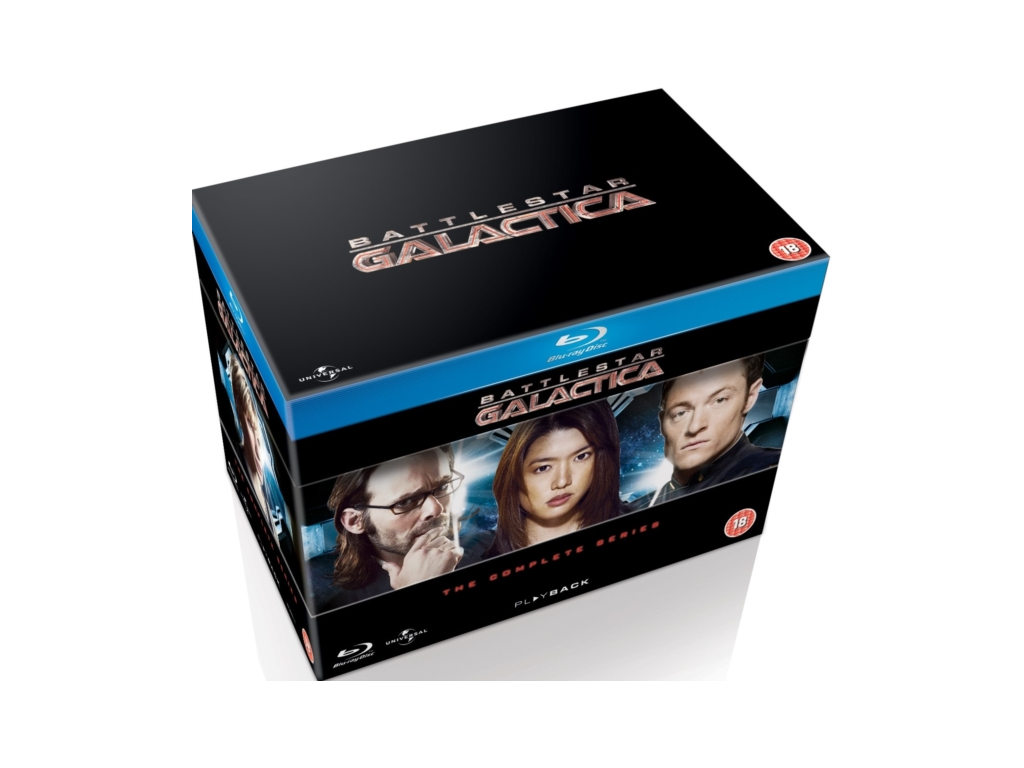 Battlestar Galactica - The Complete Series (Blu-Ray)