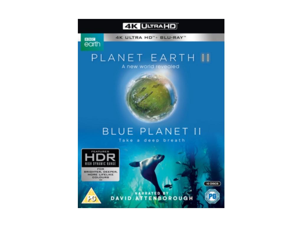 Planet Earth II & Blue Planet II Boxset (4K UHD Blu-ray + Blu-ray)