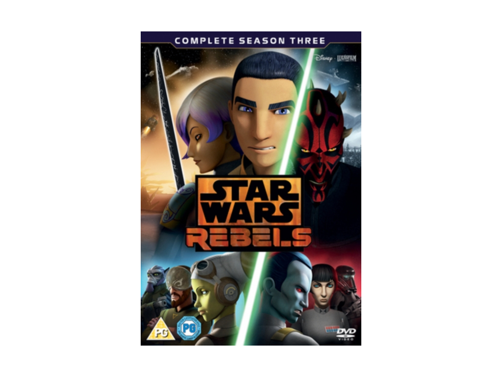 Star Wars Rebels Season 3 [DVD]