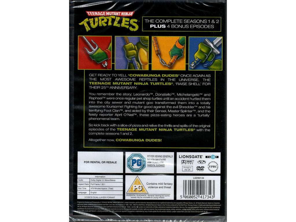 Teenage Mutant Ninja Turtles - 25th Anniversary Edition (3 Disc) (DVD)
