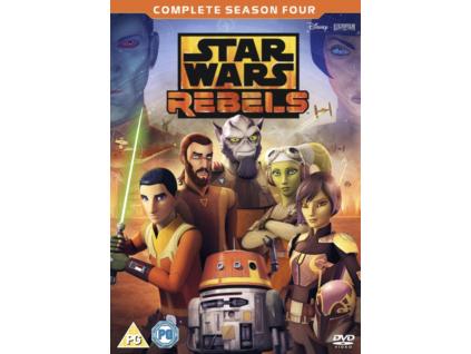 Star Wars Rebels: Season 4 [DVD] [2018]