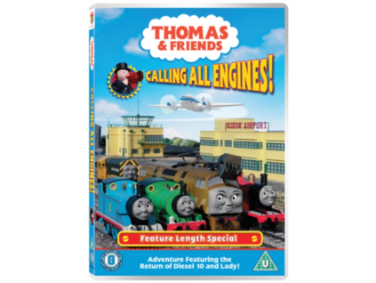 Thomas And Friends - Calling All Engines (DVD)