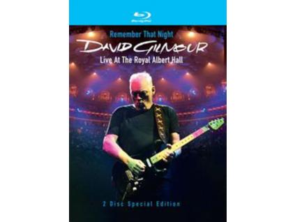 David Gilmour - Remember That Night - Live At The Royal Albert Hall (Blu-Ray)