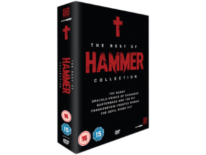 The Best Of Hammer Box Set: The Devil Rides Out / Dracula: Prince Of Darkness / Quatermass And The Pit / The Nanny / Frankenstein Created Woman (DVD)