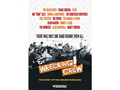 WRECKING CREW - There Was Only One Band Behind Them All (DVD)
