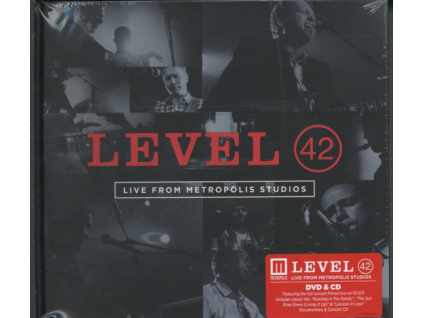 LEVEL 42 - Live From Metropolis Studios (DVD)