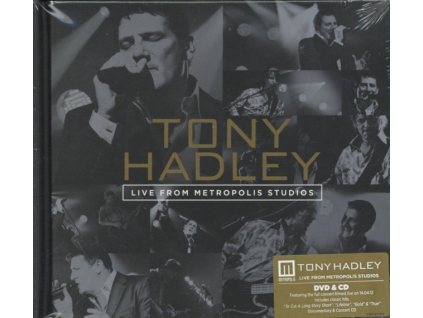 TONY HADLEY - Live From Metropolis Studios (DVD)